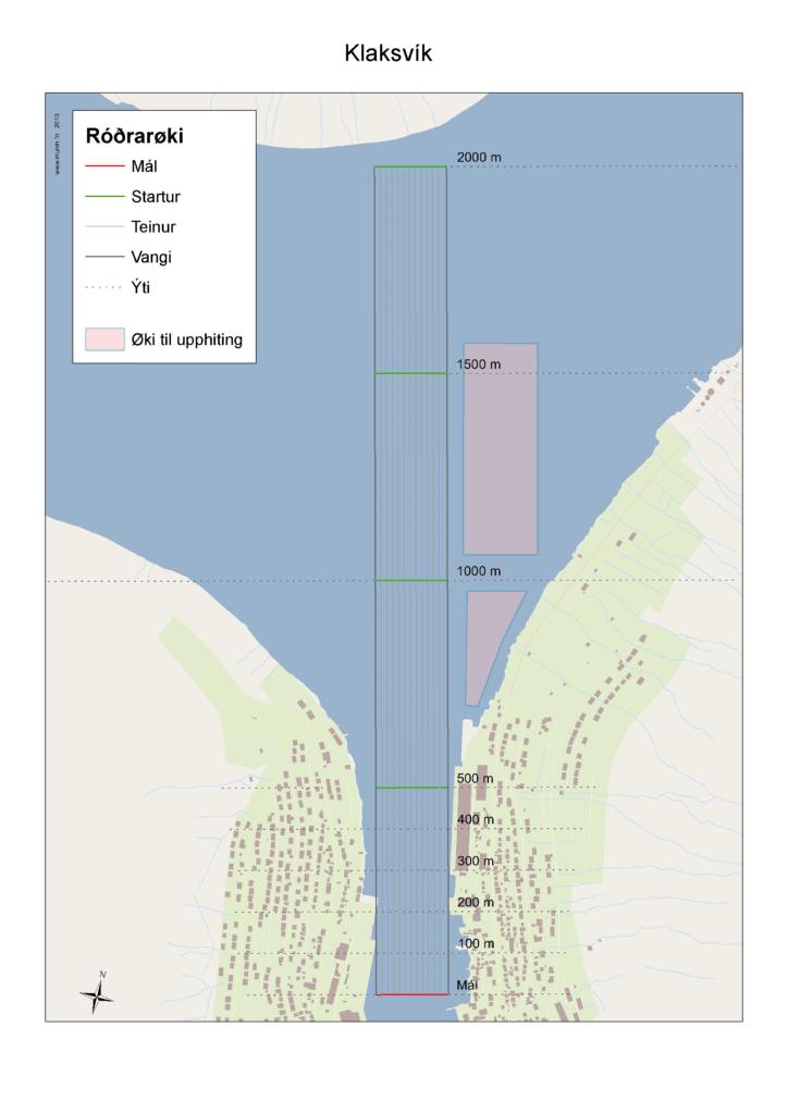 Kort Klaksvík