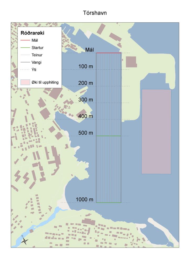 Kort Tórshavn