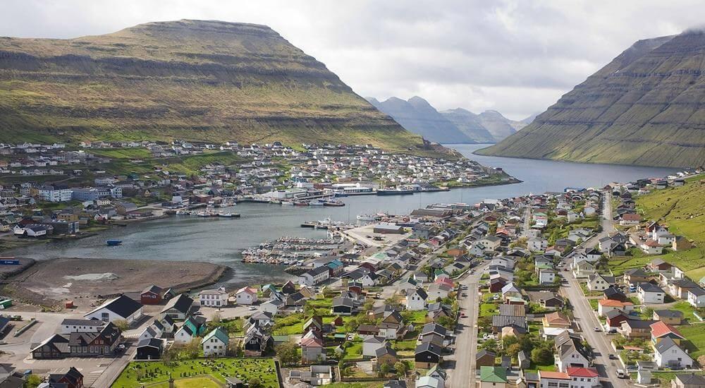 Startrøðin á Norðoyastevnu í Klaksvík tann 1. juni 2019